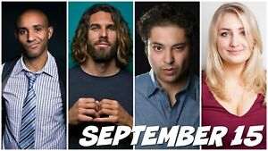 Last Laugh Comedy Club: September 15, 8pm below cost