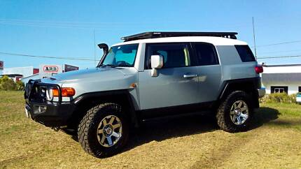 2016 Toyota FJ Cruiser with all the fruit Banyo Brisbane North East Preview