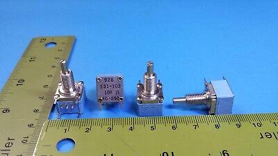 Resistor Variable Potentiometer 10k Ohm Clarostat 928531-103 531-103 4pcs