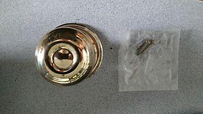 SCHLAGE SINGLE DUMMY GEORGIAN DESIGN (F170) US3 POLISHED BRASS Georgian Polished Brass