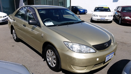 2004 TOYOTA CAMRY ALTISE AUTOMATIC SEDAN. Victoria Park Victoria Park Area Preview