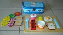 WOODEN BREAKFAST PUZZLE TRAY + SUITCASE + PLAY SANDWICH Beaudesert Ipswich South Preview