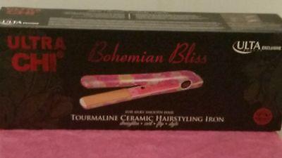 Chi Ultra Tourmaline Ceramic Straightening Iron Ulta Bohemian Bliss NEW!