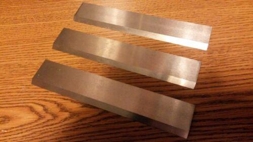"""JOINTER KNIVES 4""""  OLDER CRAFTSMAN 103.23220 HIGH SPEED STEEL set of 3"""