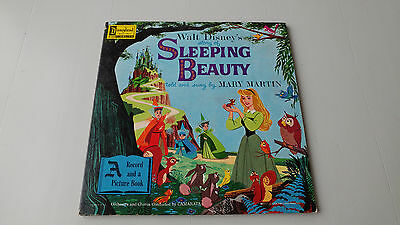 "1958, Walt Disney's ""Sleeping Beauty"", Mary Martin, Vinyl LP Record/Picture Book"