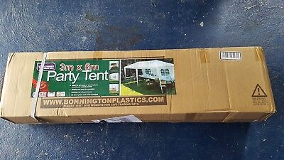 Kingfisher PT100 3 x 6m Party Tent - Marquee unopened. Brand new