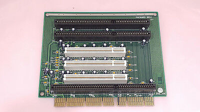 PACKARD BELL ISA / PCI RISER EXPANSION BOARD RISER CARD P/N 52F53 Rev C - Tested