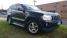 2007 Jeep Grand Cherokee 4WD TD auto logbooks from $79 week* TAP Braybrook Maribyrnong Area Preview