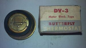 Chrysler, Imperial, DeSoto, Dodge, Hudson Plymouth DV-3 Dole Thermostat