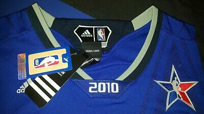 2010  LEBRON JAMES NBA EAST ALL STAR JERSEY BRAND NEW IN PACKAGE SIZE 54