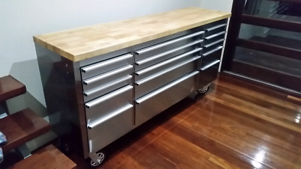 "Ultimate 72"" Stainless Steel Roll Cabinet"