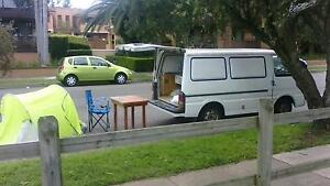 perfect 3seat compervan.6month rego.bed.camping gears Potts Point Inner Sydney Preview