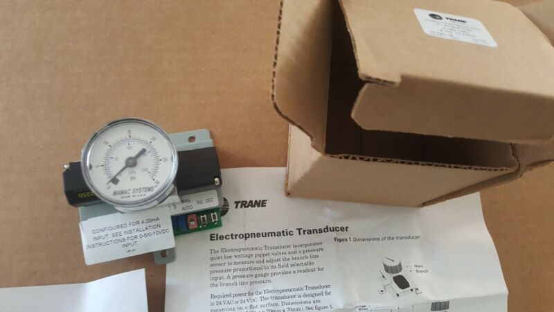 INGERSOLL RAND 4190-1097 / 41901097 Electropneumatic Train Transducer  New