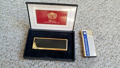 Vintage Cigarette Lighters Superking Prince Tobacco Collectable