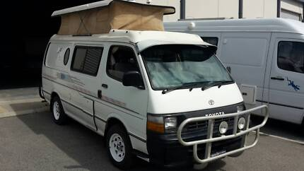 TOYOTA  HIACE  Camper  AUTO 12MTHS WARANTY INCLUDED, POP TOP