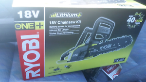 Ryobi cordless Chainsaw Brookdale Armadale Area Preview
