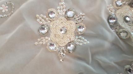 Sari - off white/ cream colour