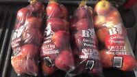 Fresh valley apples four sale
