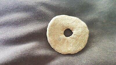 Very Rare but simple Viking lead Pendant/amulet. Please read description. L131c