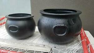 Cauldron Set of 2 Halloween Decoration Keilor Park Brimbank Area Preview