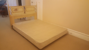 Queen size bed base + bed head Randwick Eastern Suburbs Preview