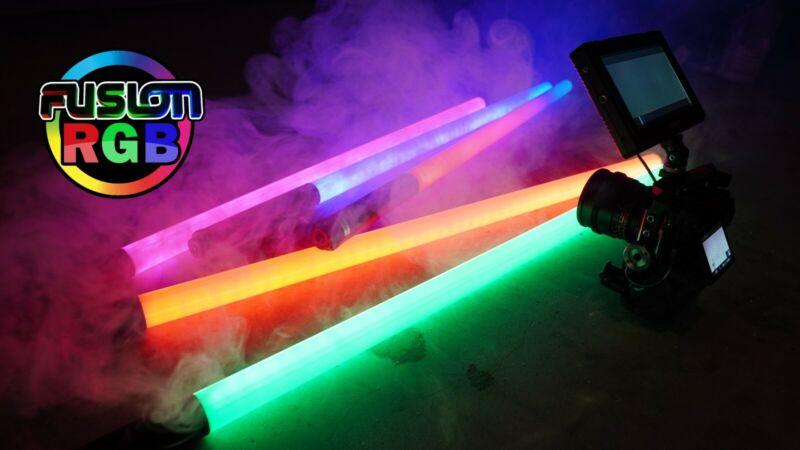 360% Rgb tube light www.fusionrgb.com