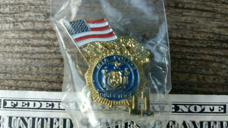 MTA Police Director 9-11 Pin New York Metropolitan Transportation Authority
