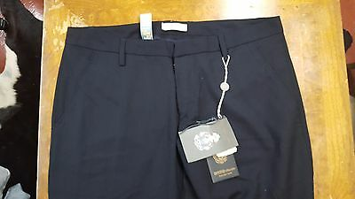 NWT $450 DONDUP MADE IN ITALY WOOL PANTS GORGEOUS LUXURY 36 35