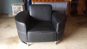 BLACK ARM CHAIR Erskine Park Penrith Area Preview