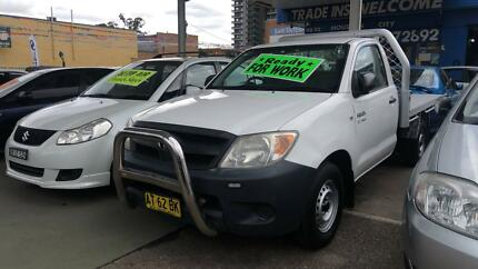2007 Toyota Hilux Ute ! Fully Serviced & Inspected !! Granville Parramatta Area Preview
