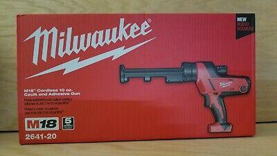 Brand New Milwaukee 2641-20 Caulk And Adhesive Gun