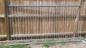 7 x Galvanised heavy duty fence panels Willoughby Willoughby Area Preview