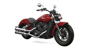 2018 Indian Motorcycles Scout Sixty ABS INDIAN MOTORCYCLE RED