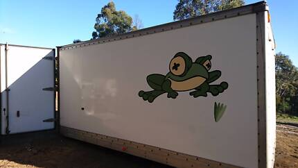 Light Truck Tray with fibreglass sides