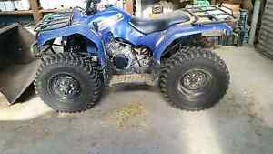 Yamaha 350 Grizzly quad bike 4x4 Lochinvar Maitland Area Preview