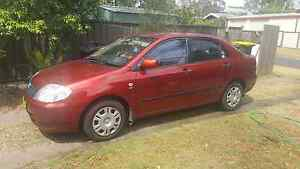 2002 Toyota Corolla Red Manual Thornton Maitland Area Preview
