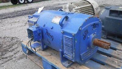 30 Hp Dc General Electric Motor 1750 Rpm 288at Frame Dpfv 500 V