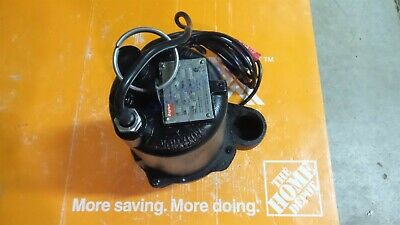 Dayton 3bb88 Submersible Sewage Pump 12 Hp Automatic Tether Switch 2 In Inch
