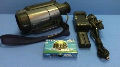 Sony Handycam CCD-TR3000 8mm Video8 HI8 Camcorder Player Stereo Video Transfer