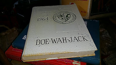 1964 Walter M. Williams Spacy School Doe-Wah-Jack Burlington North Carolina Yrbk