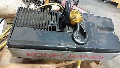Konecranes Xn 12 Ton Electric Chain Hoist Kone Cranes