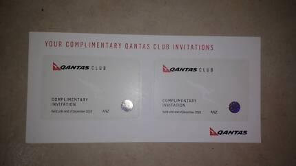 QANTAS Club tickets