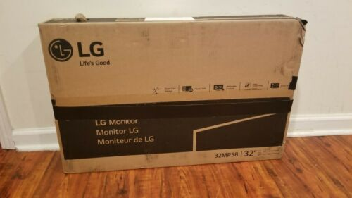 LG 32MP58HQ-P 32-Inch IPS Monitor with Screen Split Free US Shipping
