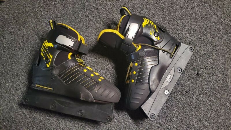 USD Transformer Kids Adjustable Aggressive Skates Rollerblades w/ New LED Wheels