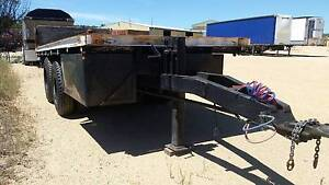 McGrath S2 Bogie Axle Flat Top Tag Trailer/Pig Trailer. Inverell Inverell Area Preview