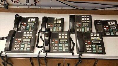Nortel Norstar M7310 Lot Of 7 Desktop Phones