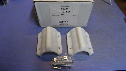 "10 Sets – GPT Model PE Polyethylene Casing Spacers 2"" x 4"".  NEW in Box"