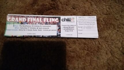 Double pass to the chilli 90.1 grand final fling  Youngtown Launceston Area Preview