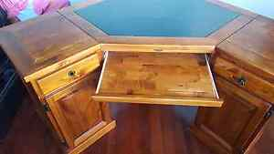 Full Timber corner Computer table Canley Heights Fairfield Area Preview