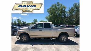 2005 Dodge Ram 1500 SLT QUAD 4WD, LOADED, HITCH, AS-TRADED